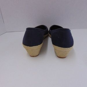 Lucky Brand Shoes - Lucky Brand Blue Wedge Shoes Closed Toe 10M